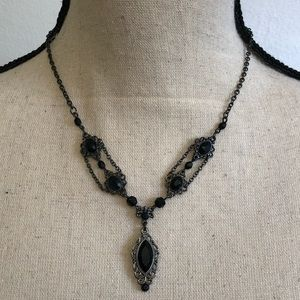 """Victorian/Gothic Necklace - 16"""""""